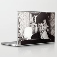 221b Laptop & iPad Skins featuring Christmas at 221b by hislastbough