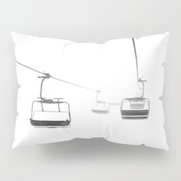 Lifts from and to nowhere Pillow Sham