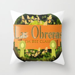 I'm Bee Class, Bee Strong, Bee Yourself Throw Pillow