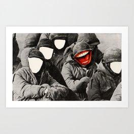 War face Art Print