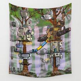 Modern Pixie Kingdom Wall Tapestry