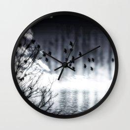 Herbstsee Wall Clock