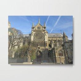 Notredame Cathedral Metal Print