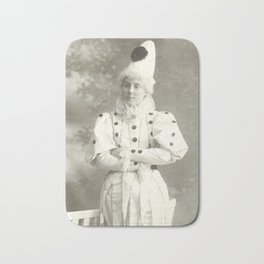 Clown, 1925 - Vintage Photo Bath Mat
