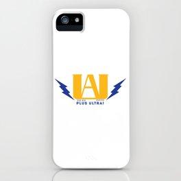 ua high school iPhone Case