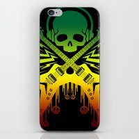 punk rock iPhone & iPod Skins featuring punk rock  by jhun21