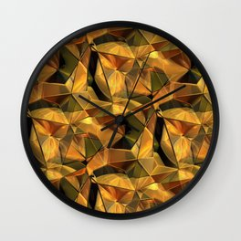 3D - abstraction -83- Wall Clock