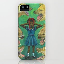 """""""Little Girls Cannot Fly"""" they said iPhone Case"""