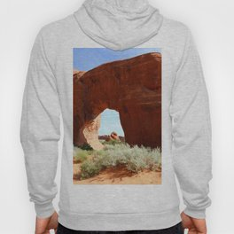 At The End Of The Trail - Pine Tree Arch Hoody
