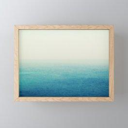 The Big Blue Framed Mini Art Print