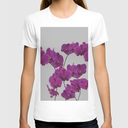 Orchid Pink Flower T-shirt