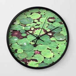 Nymphaeaceae Wall Clock