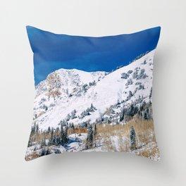 Mountainscape Throw Pillow