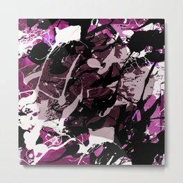 Celtic Rose Pink Metal Print