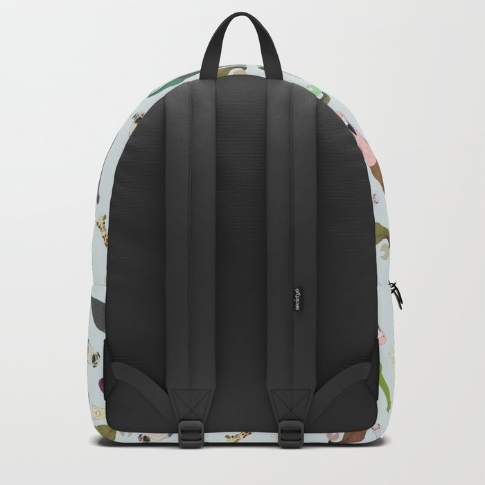 Animal Mermaid Fish Tails Backpack