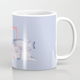 Kissing fish Coffee Mug