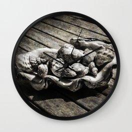 Fruit de Mer Wall Clock