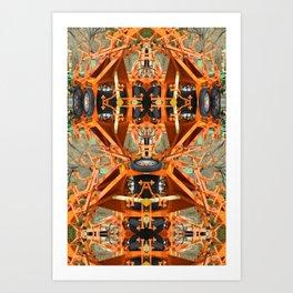 Kaleidoscope Country Boy Art Print