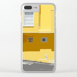 Yellow, San Francisco  Clear iPhone Case