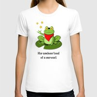 merlin T-shirts featuring Merlin the Useless Toad by sirwatson
