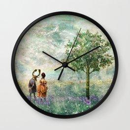 Love Is Strange Wall Clock