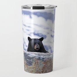 Black Bear Peak-A-Boo Travel Mug