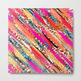 ABSTRACT SWOOSH Metal Print
