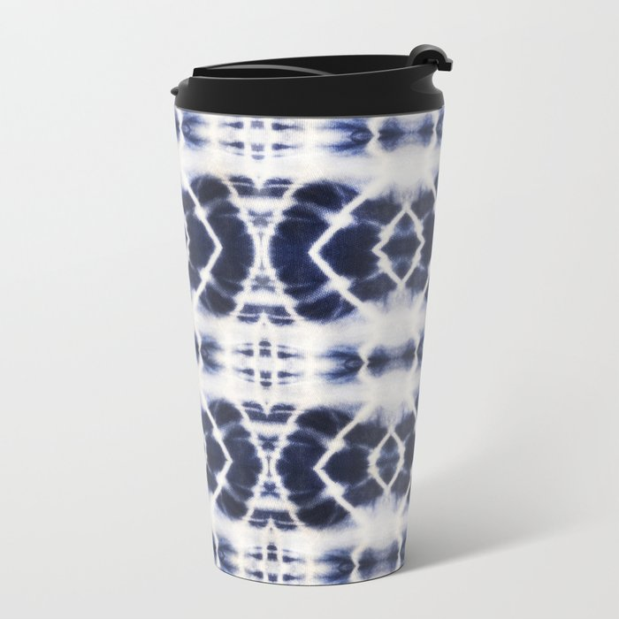 BOHOCHIC INDIGO DYE Metal Travel Mug
