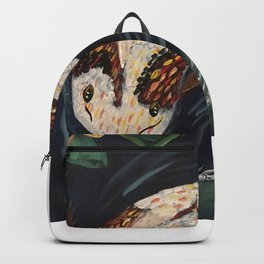 Koi Fish and Dragonfly Backpack