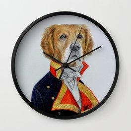 dog king Wall Clock