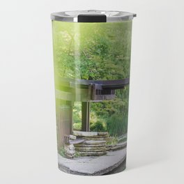 At the Lily Pond - Chicago Photography Travel Mug