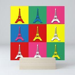 Pop art Paris Mini Art Print
