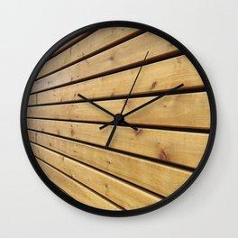 Infinite Grain Wall Clock