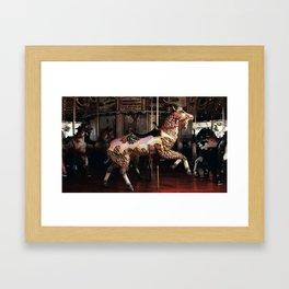 Outside Row Goat Framed Art Print