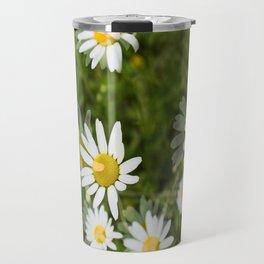 Daisies in a Blur Travel Mug