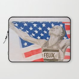 Allyson Felix Laptop Sleeve