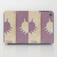 majoras mask iPad Cases featuring Majoras Mask by cbrucc