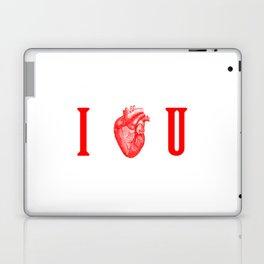 I - Heart - U Laptop & iPad Skin