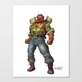 Mood the Blood Ranger Canvas Print
