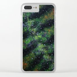 """NLK-1611 """"The Spinal Nebula"""" Clear iPhone Case"""