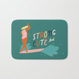Strong and cute Bath Mat