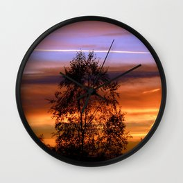 Her Warmth Wall Clock
