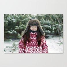 goodbye winter Canvas Print