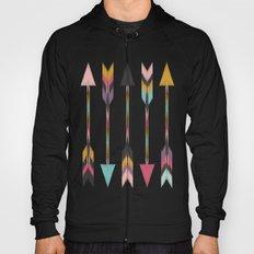 Bohemian Arrows-Pattern Hoody
