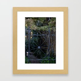 Charleston Gate Framed Art Print
