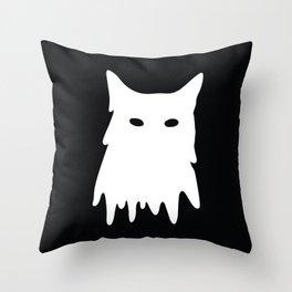 Cat Mask Throw Pillow