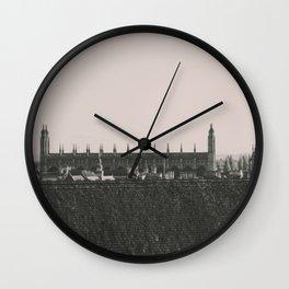 Cambridge University Wall Clock