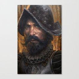 Warpriest of Magran Canvas Print