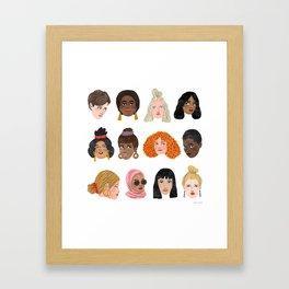 Women's Day 2018 Framed Art Print