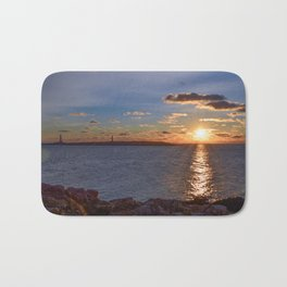 Twin Light Sunrise Bath Mat